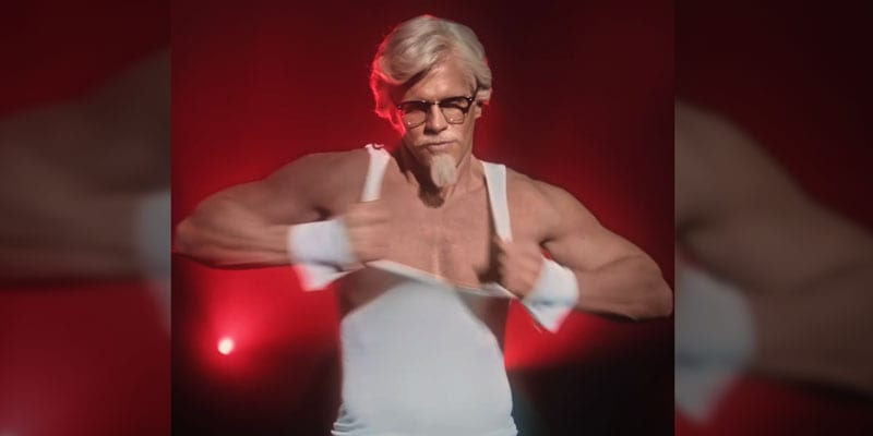 KFC's Colonel Sanders has a whole new look for Mother's Day