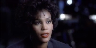 Whitney Houston (screen capture YouTube/I Will Always Love You)