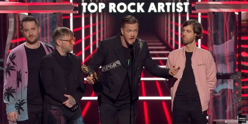 Imagine Dragons frontman Dan Reynolds calls for banning 'conversion therapy' at 2019 Billboard Music Awards