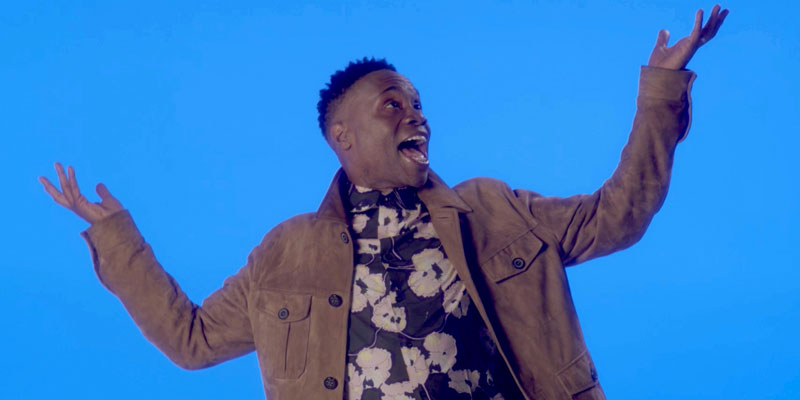"""Billy Porter in """"You Gotta Be"""" (screen capture)"""