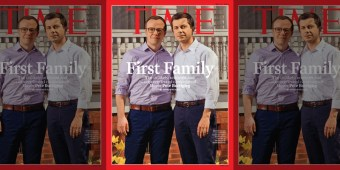 Mayor Pete Buttigieg and husband Chasten cover TIME Magazine