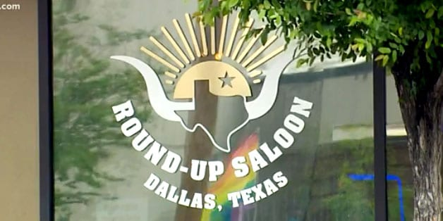 The Round Up Saloon in Dallas, Texas (screen capture)