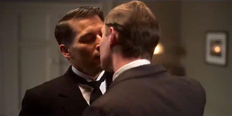 Rob James-Collier as 'Thomas Barrow' in Downton Abbey