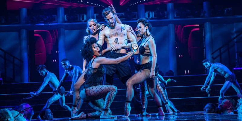 The cast of 'Broadway Bares: Take Off' (photo: Billy Bustamante)
