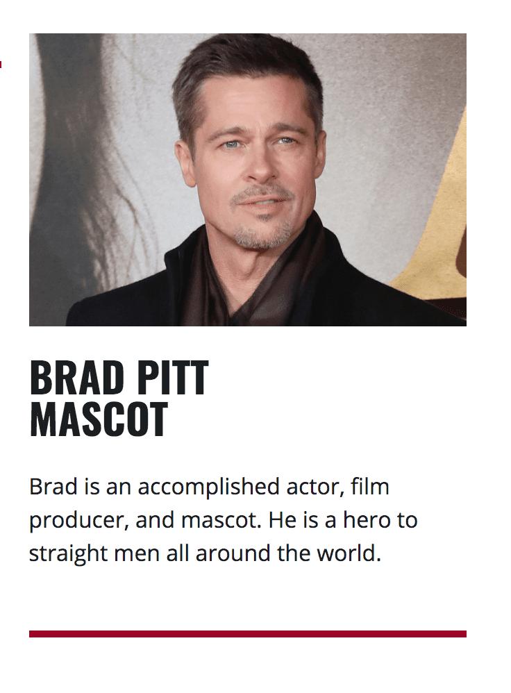straight pride brad pitt