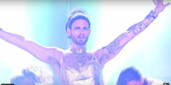 nico tortorella lip sync battle