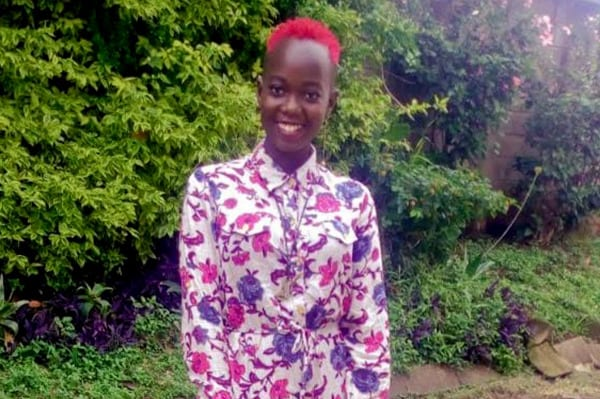 Shadia is an African refugee from Kenya