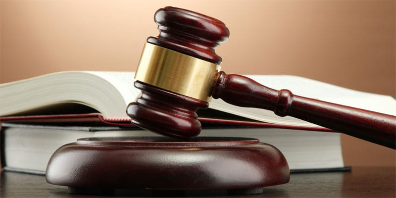 Photo of judge's gavel via Depositphotos