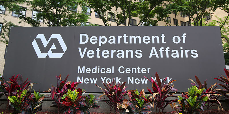 Photo of the front of the Veterans Administration