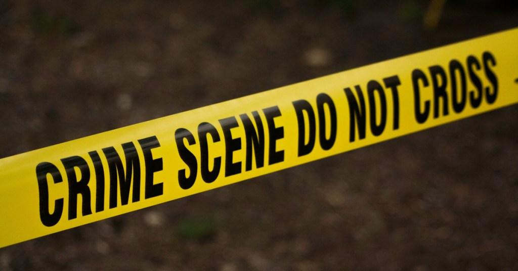 Photo of police crime scene