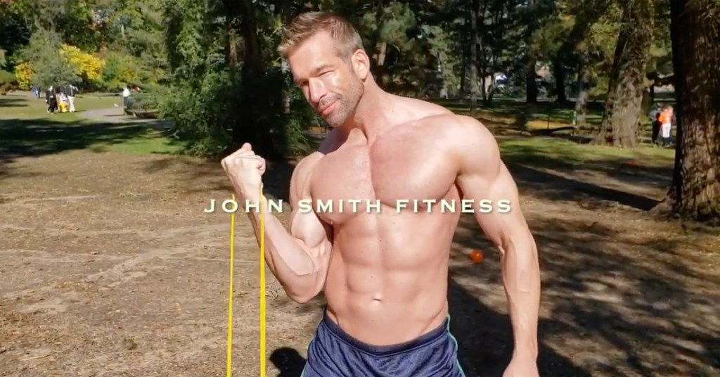 Actor Tom Berklund spoofs the inspirational fitness hunks of Instagram in new parody video
