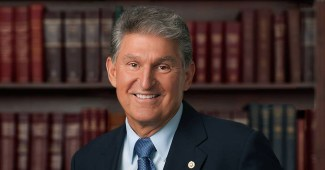 Official photo of Sen. Joe Manchin of West Virginia