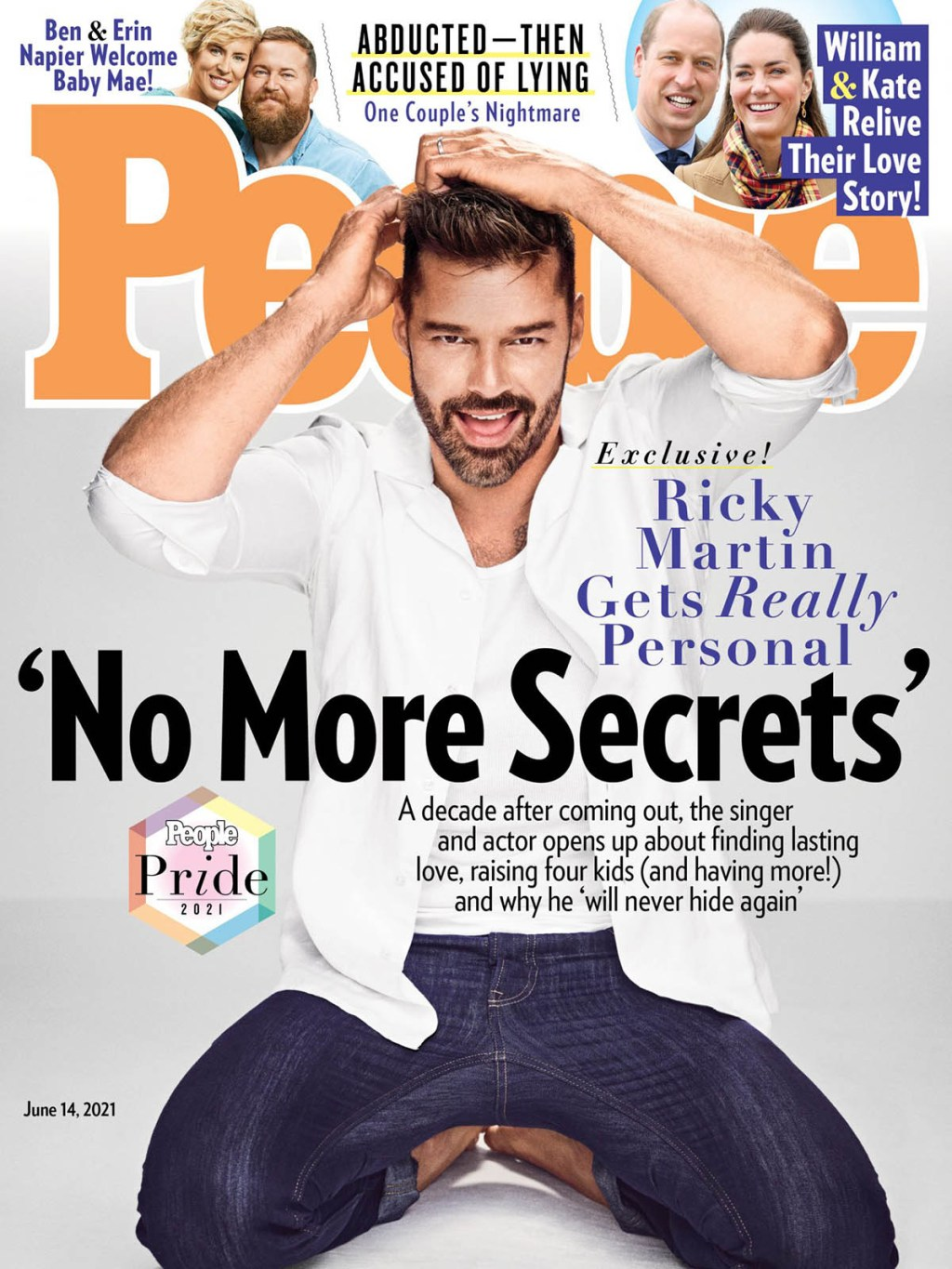 Ricky Martin covers PEOPLE Magazine for its annual Pride Issue
