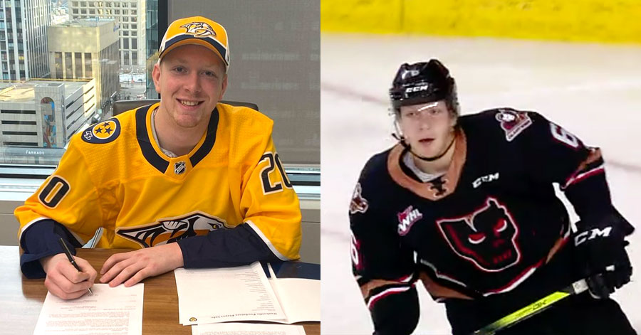Luke Prokop of the Nashville Predators came out as gay today