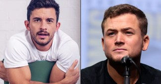 """Jonathan Bailey and Taron Egerton announced to play the West End in """"Cock"""""""