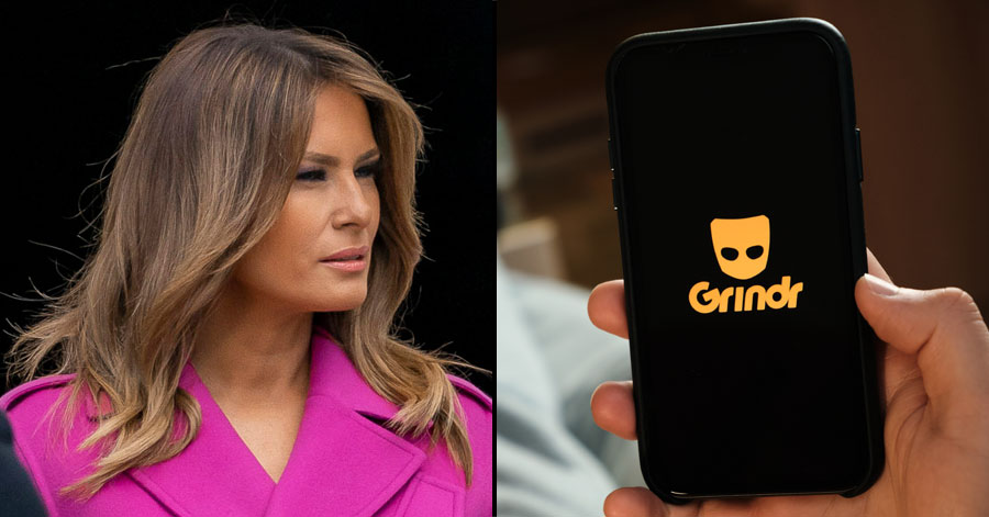 Former First Lady Melania Trump didn't stand up for a gay White House staffer who was allegedly fired for having a 'lively' Grindr account