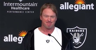 Jon Gruden has resigned as head coach of the Las Vegas Raiders after emails spanning 7 years showed casual use of homophobic, racist, and misogynistic remarks.