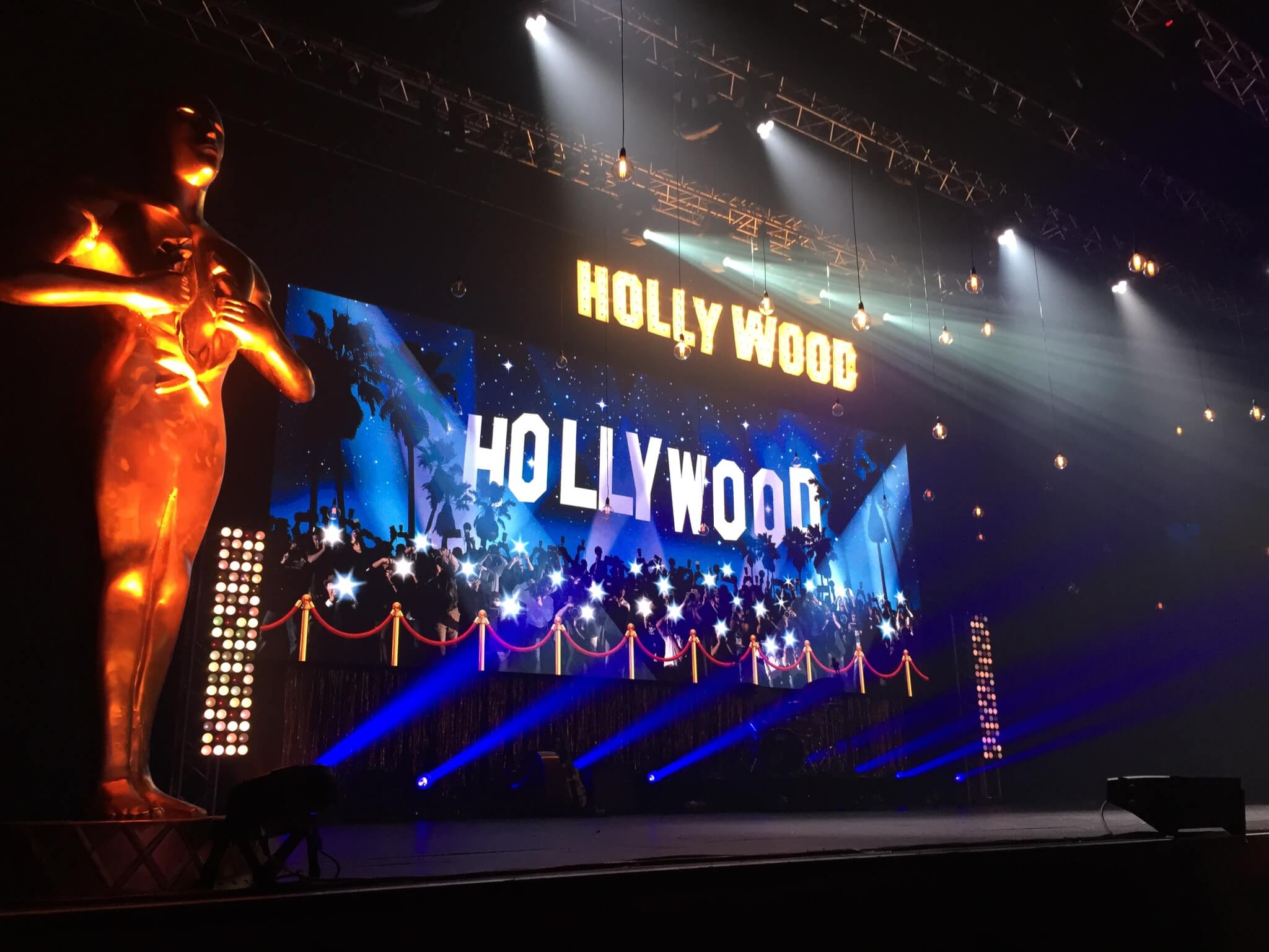 Hollywood Theme Awards Nights Corporate Events Theme