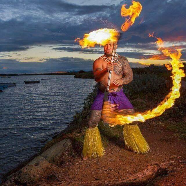 Polynesian Fire Dancers  Instinct Music