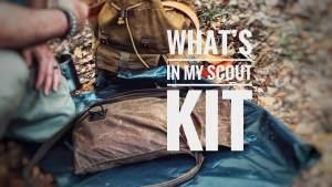Minimal bushcraft kit