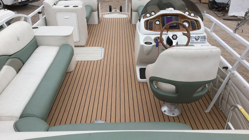 Boat carpet and boat mats from In Stitches Customs