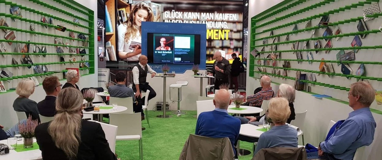 Moderation auf der Frankfurter Buchmesse