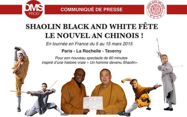 Shaolin Black and White