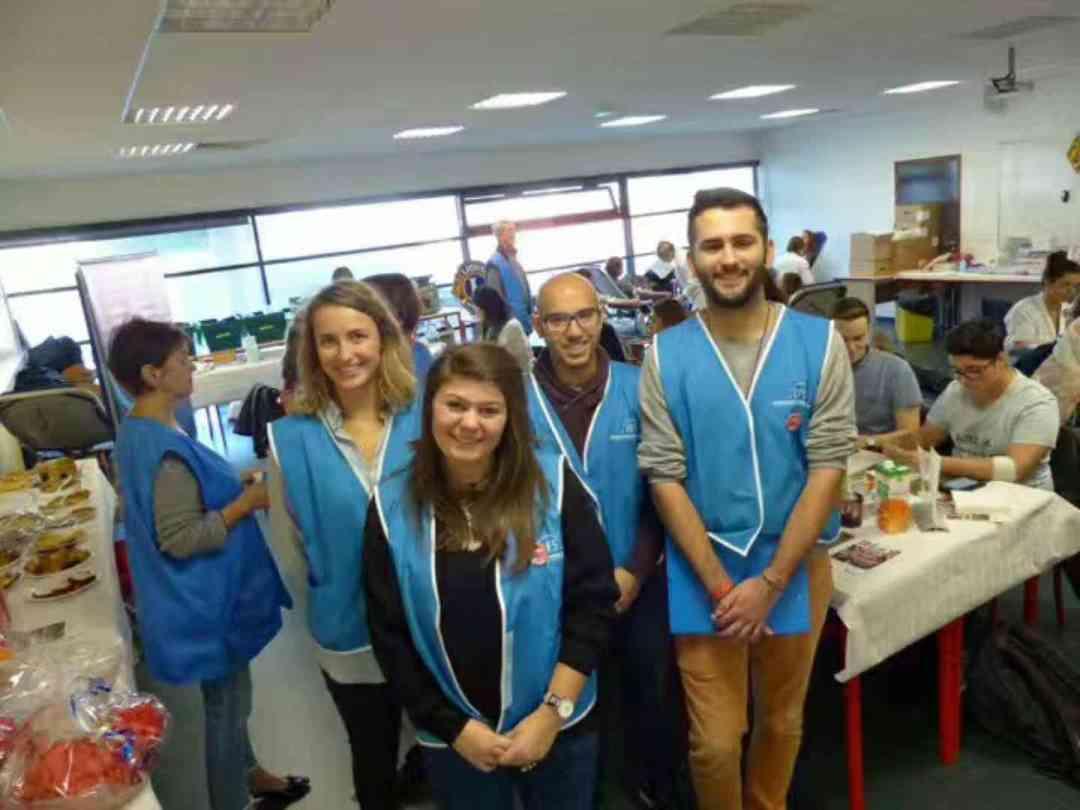équipe don du sang