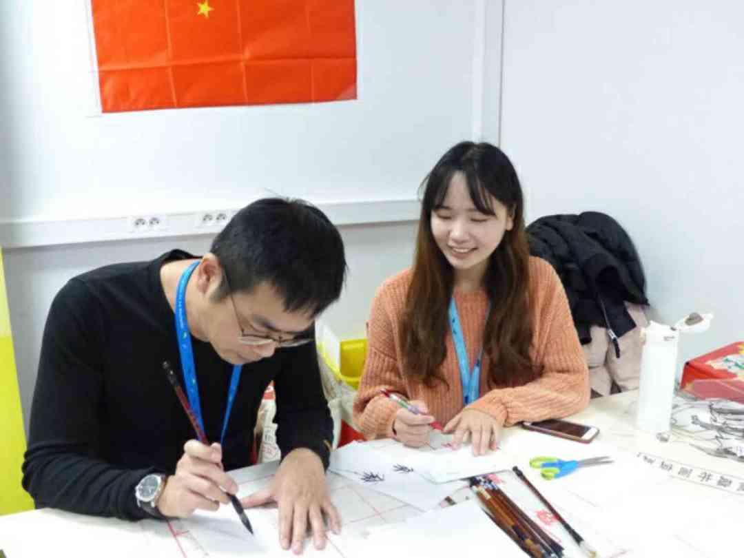 LIU Xun et Mr Calligraphie