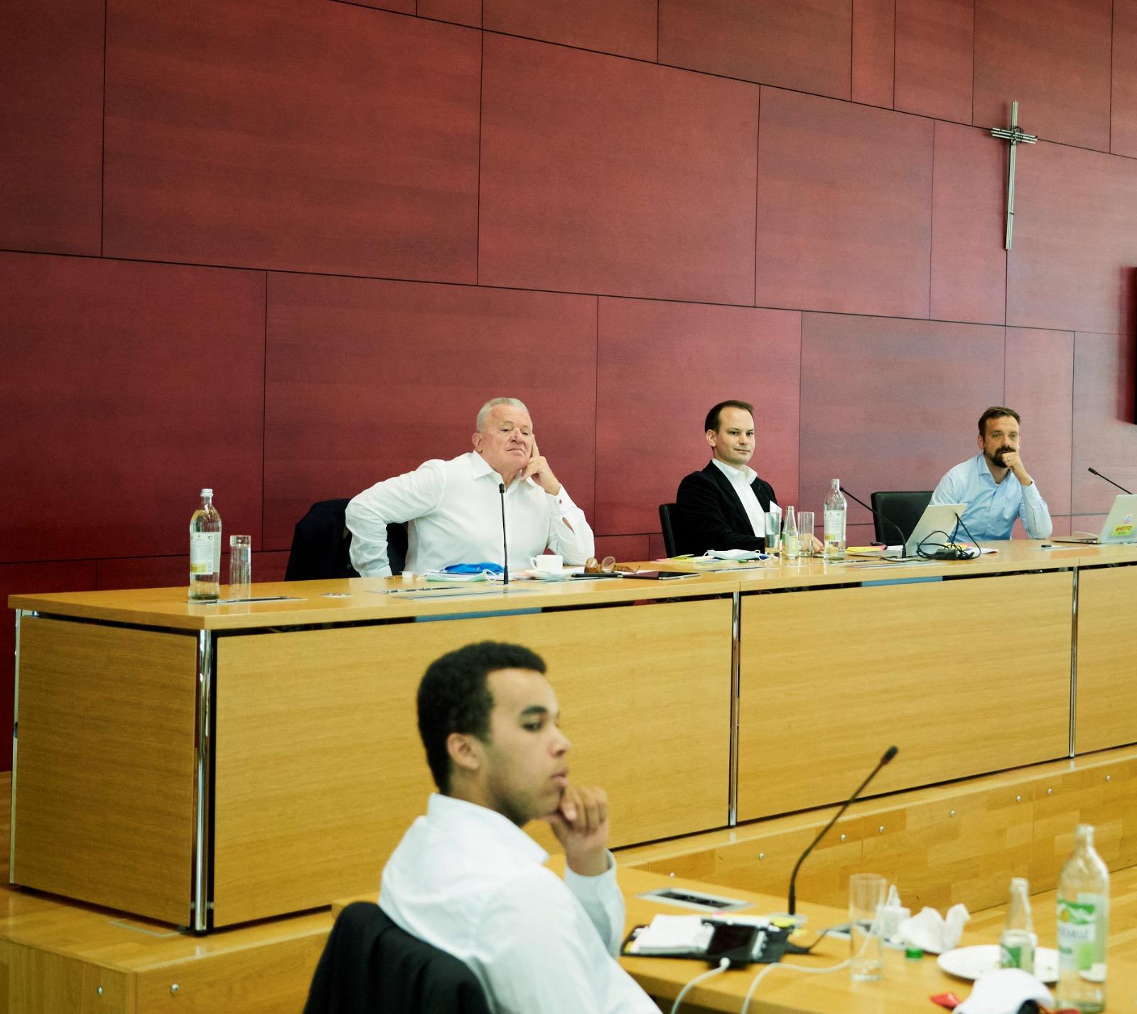 Florian Sochatzy vom Instituts für digitales Lernen im bayerischen Landtag
