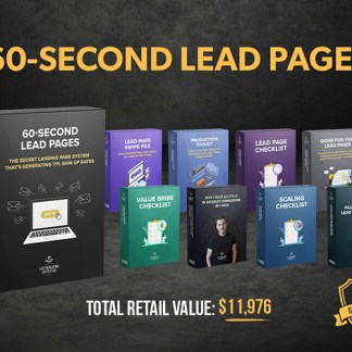 60-Second Lead Pages
