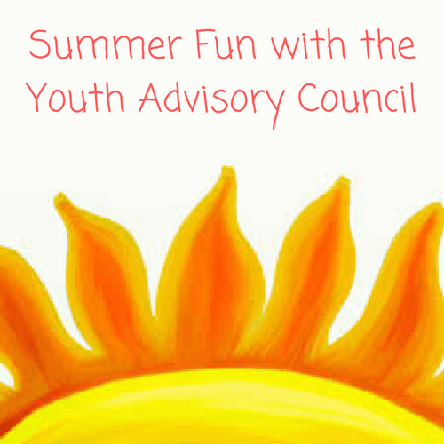 Summer Fun with the Youth Advisory Council