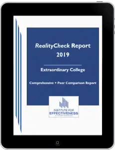 RealityCheck Report Cover on Ipad