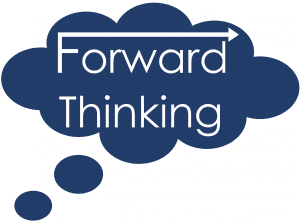 Forward Thinking Logo - thinking about cloud based evaluations