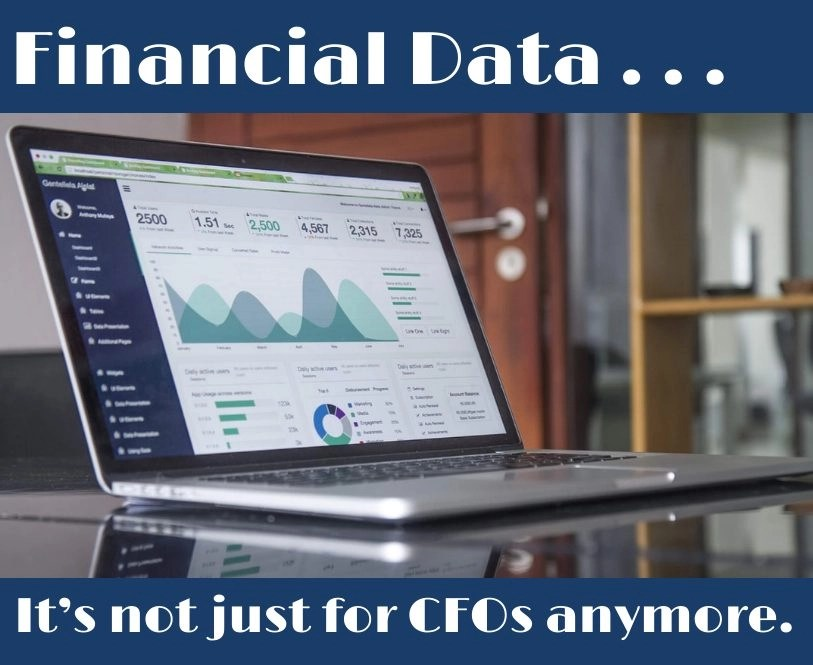 Financial data . . . It's not just for CFOs anymore image