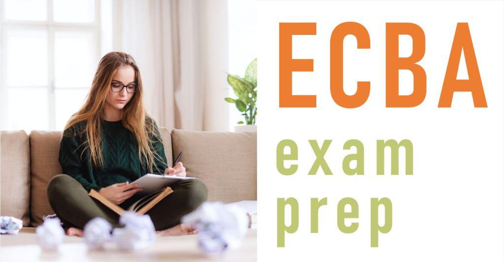 ECBA Exam Prep