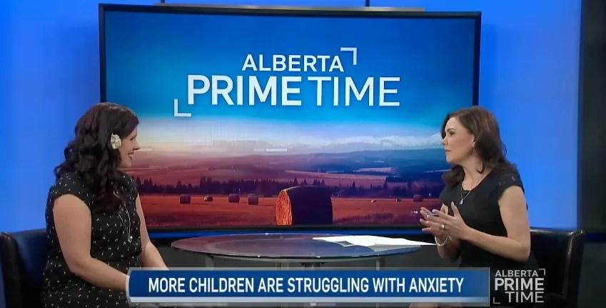 Alberta Primetime: Childhood Anxiety