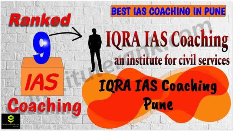 Top IAS Coaching Centre in Pune