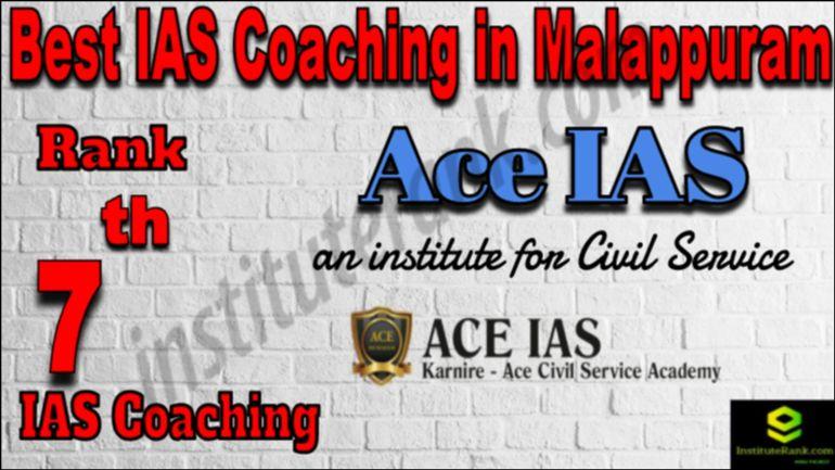 Rank 7 Best IAS Coaching in Malappuram
