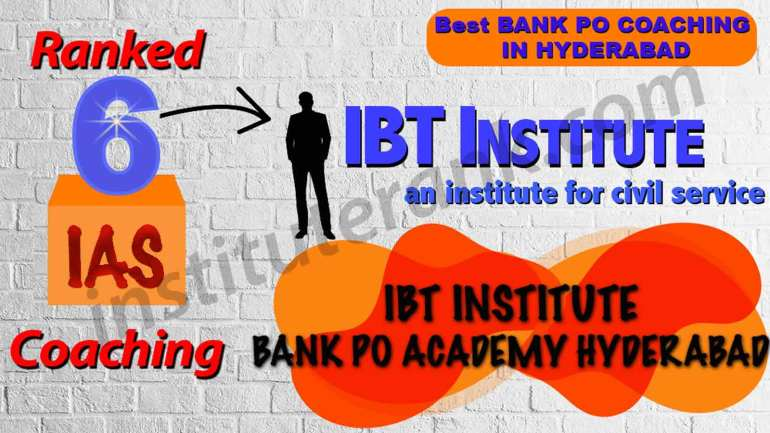 Best Bank Po Coaching in Hyderabad