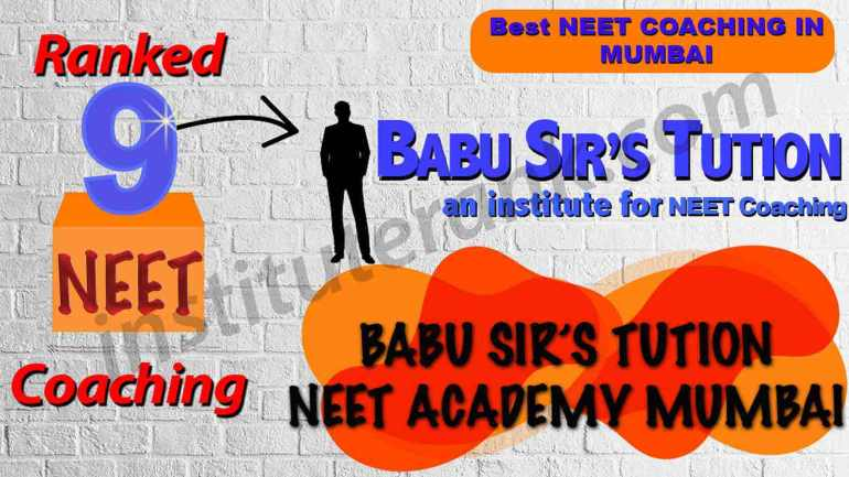 Top Coaching for NEET in Mumbai