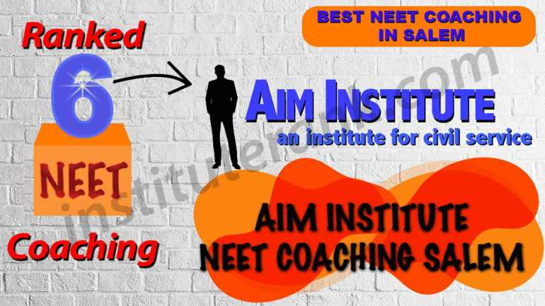 Best NEET Coaching in Salem
