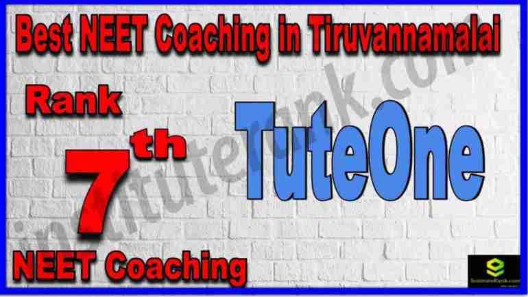 Rank 7th Best NEET Coaching in Tiruvannamalai