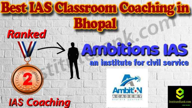 Best IAS Coaching Institute and fees in Bhopal