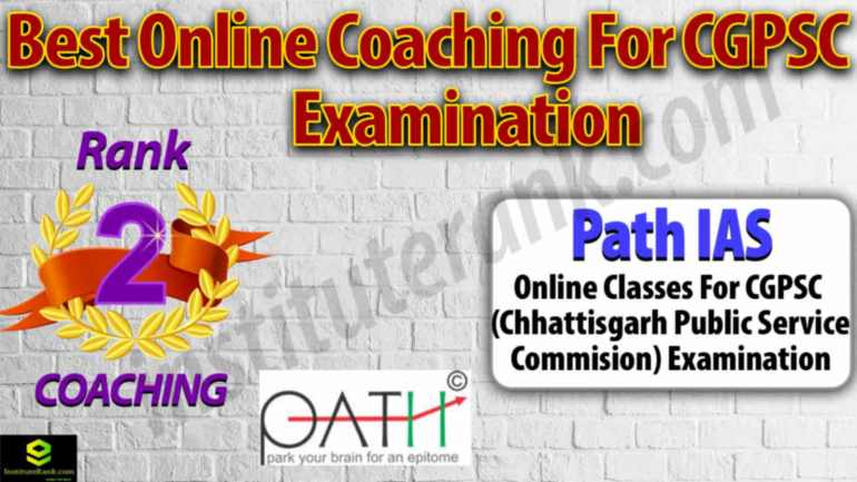 Best Online Coaching Centre for CGPSC Examination
