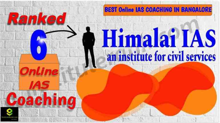 Top Online Civil Services Coaching in Bangalore