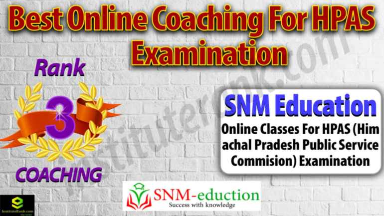 Top Online Coaching Centre for HPAS Examination