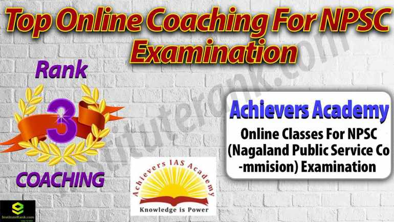 Top Online Coaching Centre for NPSC Examination