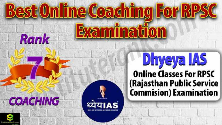 Top Online Coaching for RPSC Exam Preparation