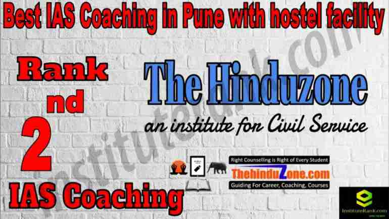 2nd Best IAS Coaching in Pune with hostel facility